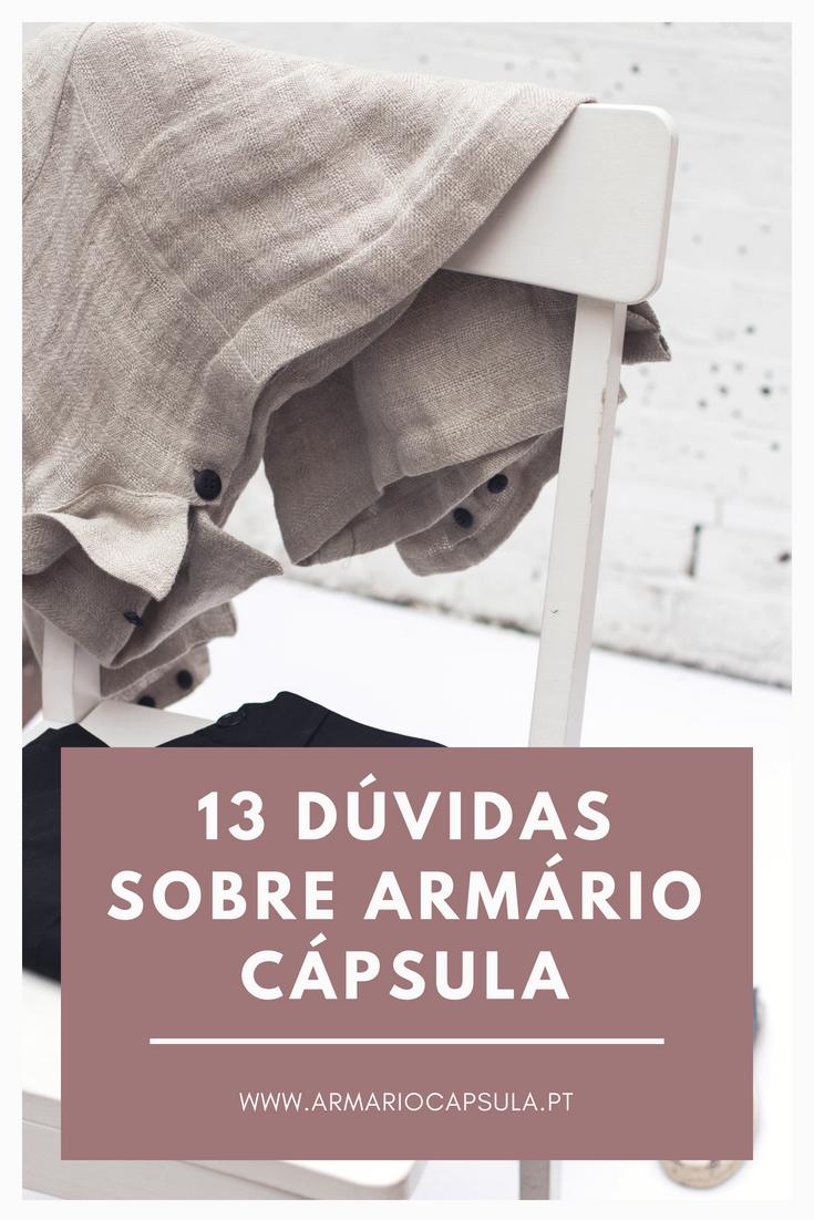 13 dúvidas sobre armário cápsula
